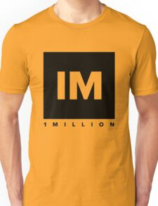 1 MILLION Dance Studio Logo (Black Version) Unisex T-Shirt