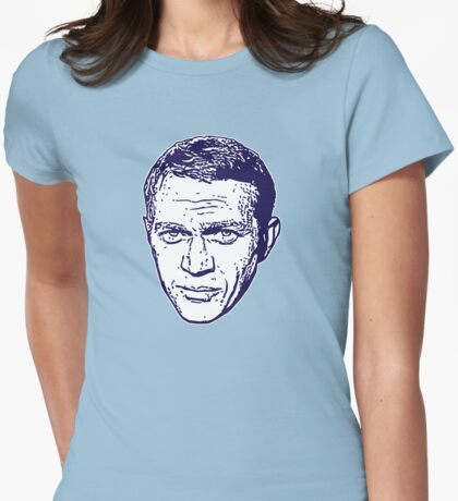 Steve McQueen - The King of Cool Womens Fitted T-Shirt