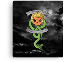Voldemort Trump Death Eater Dark Mark Harry Potter Books Politics President Election Print Canvas Print