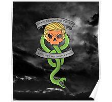 Voldemort Trump Death Eater Dark Mark Harry Potter Books Politics President Election Print Poster