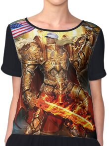 God Emperor Trump Chiffon Top