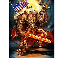 God Emperor Trump Photographic Print