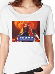 Duke Nukem Trump Women's Relaxed Fit T-Shirt