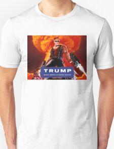 Duke Nukem Trump Unisex T-Shirt