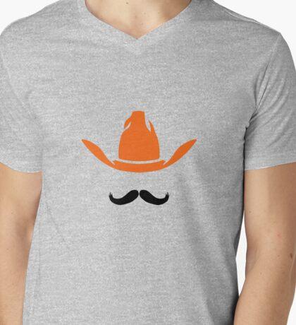 Minimalist Pete Mens V-Neck T-Shirt