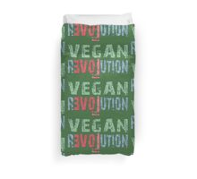 VEGAN EVOLUTION in Love Duvet Cover