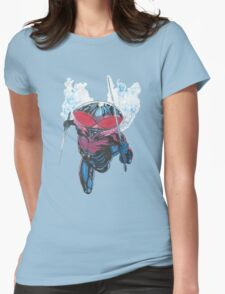 Black Manta Womens Fitted T-Shirt