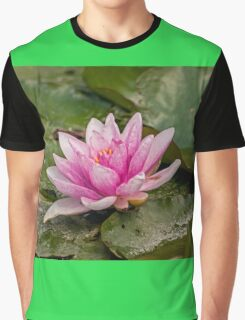 Water Lily (1) Graphic T-Shirt