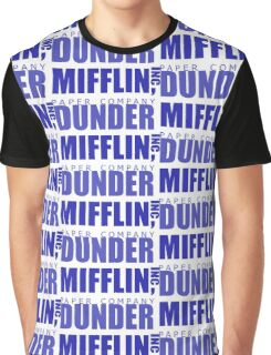 Dunder Mifflin inc. Graphic T-Shirt
