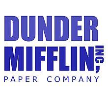 Dunder Mifflin inc. Photographic Print