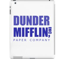 Dunder Mifflin inc. iPad Case/Skin