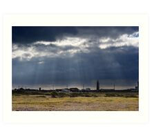 Dungeness Through a Prime Lens 03 Art Print
