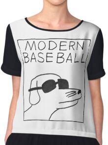 modern baseball Chiffon Top