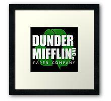 Dunder Mifflin Recycle Framed Print