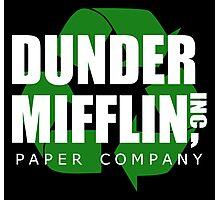 Dunder Mifflin Recycle Photographic Print