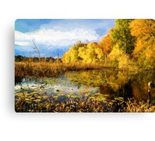 Autumn nature Canvas Print