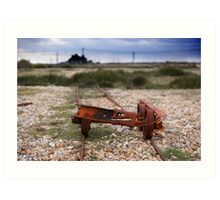 Dungeness Through a Prime Lens 02 Art Print