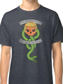 Voldemort Trump Death Eater Dark Mark Harry Potter Books Politics President Election Print Classic T-Shirt