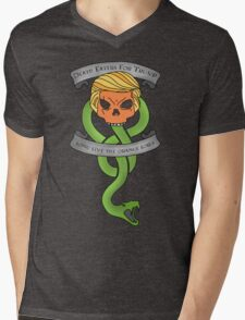 Voldemort Trump Death Eater Dark Mark Harry Potter Books Politics President Election Print Mens V-Neck T-Shirt