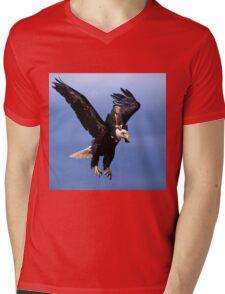 Trump Riding Eagle Mens V-Neck T-Shirt