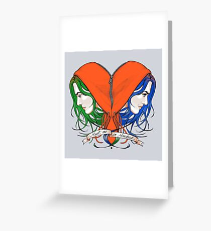 Clementine's Heart Greeting Card
