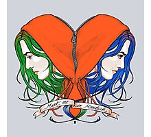 Clementine's Heart Photographic Print