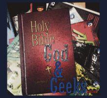 God and Geeks Podcast Logo Kids Tee