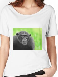 Chimpanzee - Sketched on an iPad Women's Relaxed Fit T-Shirt