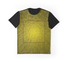 Yellow cubes Graphic T-Shirt