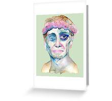 Watercolor Buscemi Greeting Card