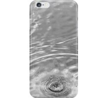 Ripples in Black and White iPhone Case/Skin