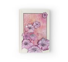 Watercolour Flowers Collage 6 Hardcover Journal