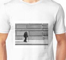 weight of the world. Unisex T-Shirt