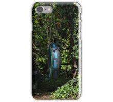 Tire Swing in a Garden iPhone Case/Skin