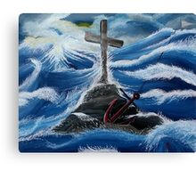 The Anchor Holds Canvas Print