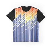 Flame dynamic lines Graphic T-Shirt