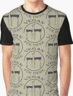 VEGAN FÜR TIERE Graphic T-Shirt
