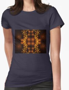 Shiney And Gold Womens Fitted T-Shirt