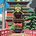 Spirited Away 8bit by ZoeTwoDots