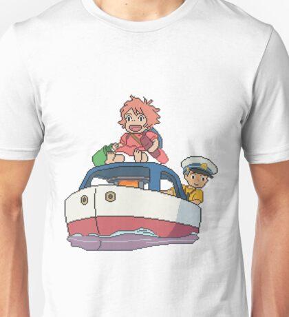 8bit Ponyo Unisex T-Shirt