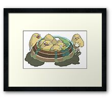 Spirited Away Chickens/Tori Framed Print
