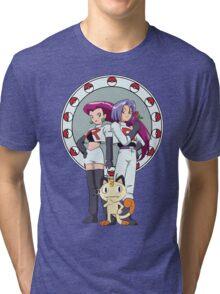 Team Rocket Nouveau Tri-blend T-Shirt