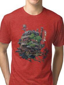 8bit Howl's Moving Castle Tri-blend T-Shirt