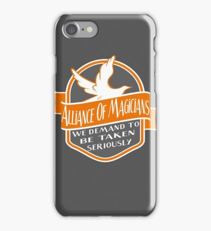 Alliance of Magicians iPhone Case/Skin