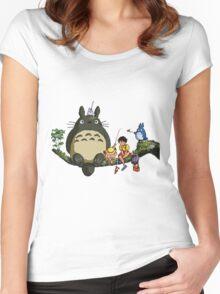 My 8bit Neighbour Women's Fitted Scoop T-Shirt