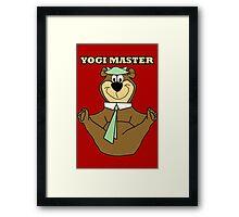 Yogi Master Framed Print