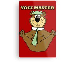 Yogi Master Metal Print
