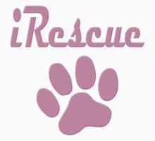 iRescue - animal cruelty, vegan, activist, abuse Kids Clothes