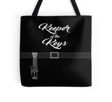 Keeper of the Keys: With Words Tote Bag