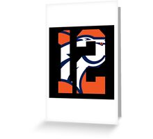 Paxton Lynch-Jersey Greeting Card